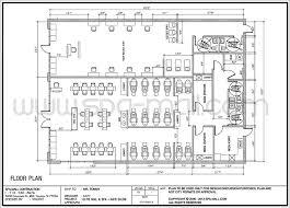 beauty salon floor plans salon design layout