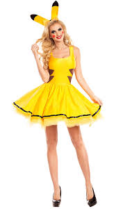 Buy Halloween Costumes Free Shipping Buy Halloween Pikachu Cosplay Costumes Women