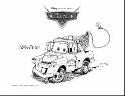 wonderful cars mater coloring lightning mcqueen coloring