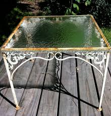 paint glass table top up cycling glass table before decoupage pinterest glass table