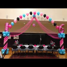 sweet 16 decorations sweet 16 balloons balloon arches balloon centerpieces sweet 16 party