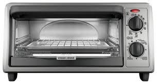 Black Decker 6 Slice Toaster Oven Black U0026 Decker 4 Slice Toaster Oven Silver To1322sbd Best Buy