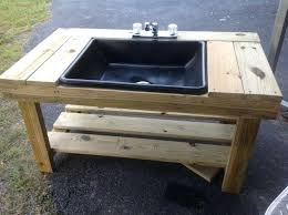 Garden Sink Ideas Outdoor Sink Build Your Own Outdoor Utility Sink Outdoor Sink