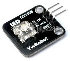 electronic components led lights white light piranha led light emitting module for arduino electronic