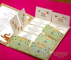 Indian Wedding Invite Unique Indian Wedding Invitations Allabouttabletops Com