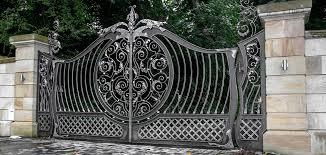 wrought iron gates driveway gates iron railings side gates