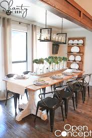 Chic Dining Room Diy Dining Table Free Plans Shanty 2 Chic