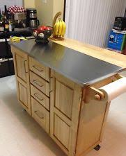 stainless steel topped kitchen islands stainless steel top kitchen pleasing stainless steel kitchen