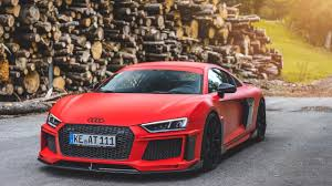 Audi R8 V10 - first drive in the crazy abt audi r8 v10 plus youtube
