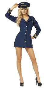 Halloween Airplane Costume Flight Captain Pilot Costume Costumes