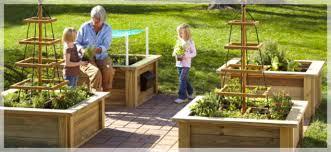 Raised Gardens Ideas Our Garden Wood Rope Trellis Bench Seating Mailbox Storage