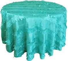 forest green table linens tiff blue aqua blue forest taffeta tablecloths 132 round
