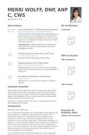 Sample Resume For Staff Nurse by Nurse Practitioner Resume Samples Visualcv Resume Samples Database