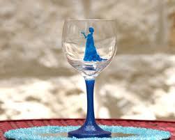 paint a princess wine glass morena u0027s corner