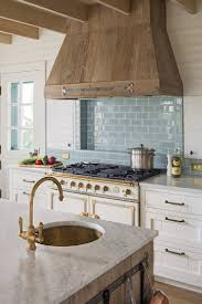 white kitchen cabinets with blue subway tile 36 best beautiful blue and white kitchens to hello