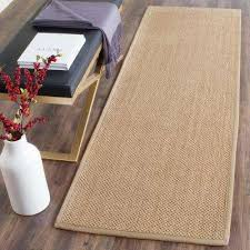Natural Fiber Rug Runners Safavieh Jute Area Rugs Rugs The Home Depot
