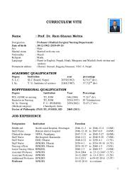 Curriculum Vitae Medical Doctor Template 100 Family Physician Resume Awesome Collection Of Sample