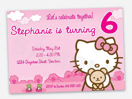 how to create hello kitty birthday invitations templates u2014 anouk
