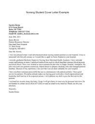 nursing student resume nursing student resume cover letter listmachinepro com