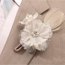 boutonniere mariage boutonniere mariage vintage pour marié