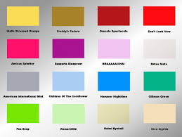 color and mood chart beautifully idea 9 psychology paint color