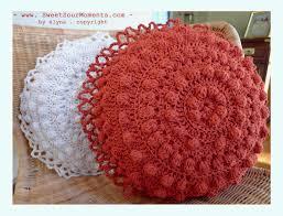 Pink Round Cushion 162 Best Crochet Pillows U0026poufs Images On Pinterest Crochet