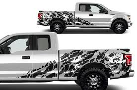 ford f 150 2015 2017 supercab 6 5 bed custom vinyl decal wrap