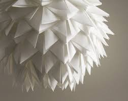 Paper Pendant Lighting Custom Illuminated Paper Centerpieces And Flowers By Asterandquail