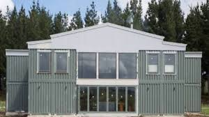 shipping container home new zealand youtube