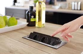 bloc prise cuisine escamotable bloc multiprise escamotable 2017 et prise electrique plan de