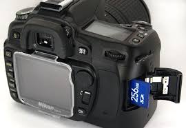Memory Card Nikon D70 nikon d80 digital slr look review