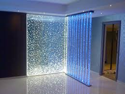 cool room separators ideas with vertical pipe lights models and