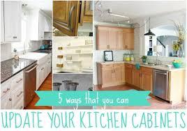 updating kitchen ideas 5 ways to update kitchen cabinets kitchens condo kitchen