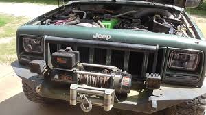 baja jeep cherokee 2000 jeep cherokee found coolant leak youtube