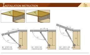 Kitchen Cabinet Door Closers Kitchen Cabinet Door Closer Adjustable Hydraulic Lift Air Piston