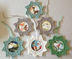 6 crocheted ornaments free crocheted patterns ornament patterns