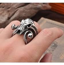 metal fashion rings images Shop punk rock rings at rebelsmarket jpg