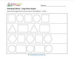 extending patterns worksheets kindergarten patterns