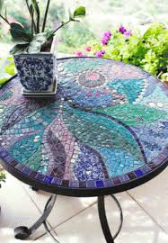 how to make a mosaic table top how to mosaic art for your garden mosaics craft and gardens