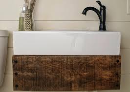 Farmhouse Black White Timber Bathroom by Rustic Double Sink Vanity Tags Weathered Wood Bathroom Vanity