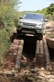 nissan titan jumps off bridge 2016 range rover sport td6 straddling log bridge all things