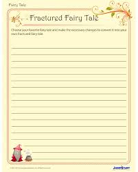 fractured fairy tales printable creative writing worksheet for