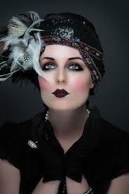 make up your mind 1920 s make up hair preparation for shoot
