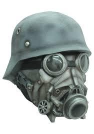 gas mask costume chemical warfare mask