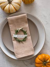 30 and easy diy place cards for your thanksgiving table