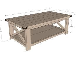 diy 32 coffee table project plans modern outdoor diy black