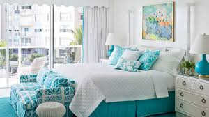 turquoise bedroom 50 ways to decorate with turquoise coastal living