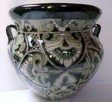 Mexican Wall Sconce Talavera Planter Pottery Ebay