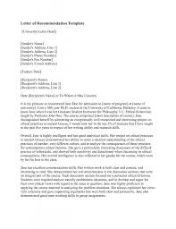 Tenant Reference Letter Sample Letter Of Recommendation Template Download As Pdf Reference Letter
