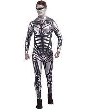 Silver Halloween Costume Cyborg Costume Ebay